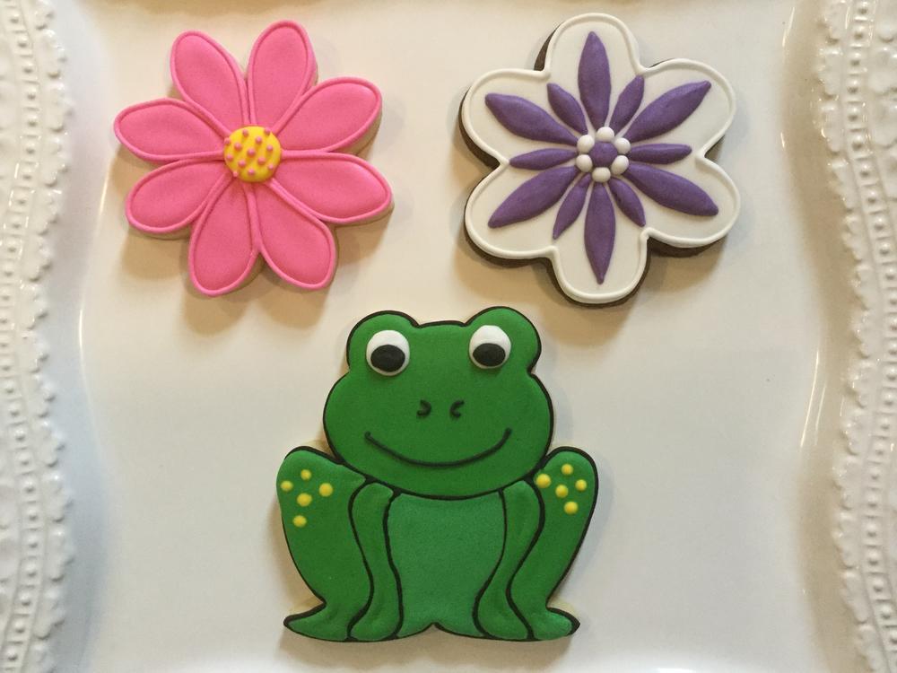 Flowers & Frogs - Springtime Fun