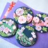 Classic Kimono Pattern ~Flower Circles~