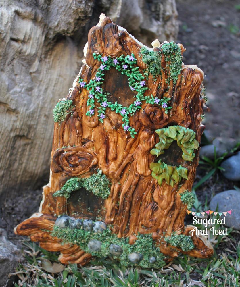 Fairy Tree Cookie