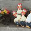 Observing Easter hens