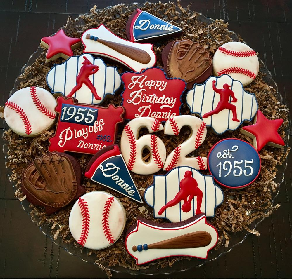 Baseball Platter Cookie Connection