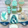 Moroccan Themed Thank you cookies