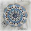 Mandala Stained Glass Effect