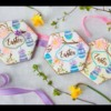 "How to Make Julia's ""Easter"" Prettier Plaques Stenciled Cookies"