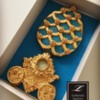 Lorena Rodríguez. Easter cookies.  Faberge Egg cookie. Faberge inspired .