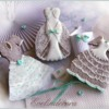 Wedding gowns cookies