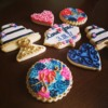 Handpainted Wedding Cookies