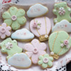 Spring Baby Shower Cookies