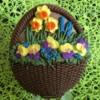 Basket Full of Spring Flowers