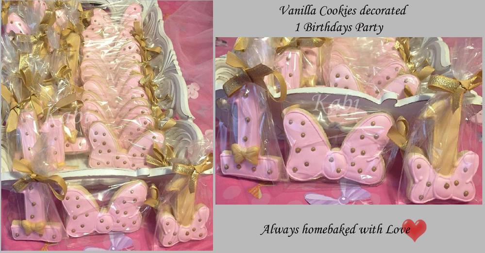 1 Birthday Cookies