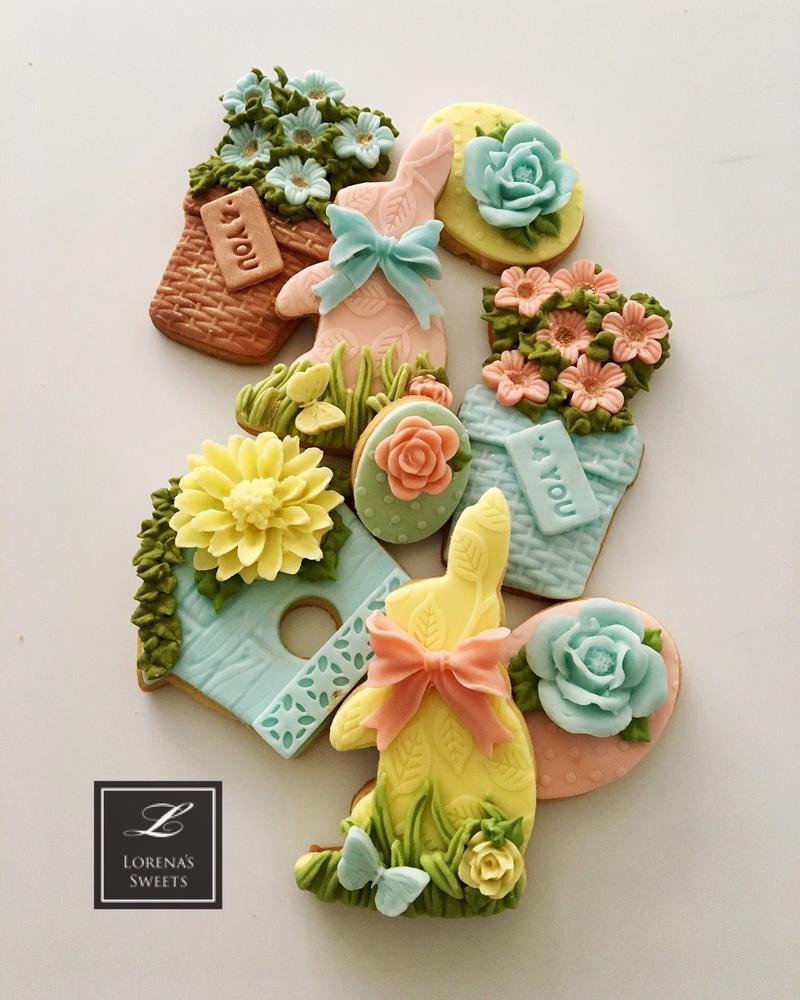 Lorena Rodríguez. Spring cookies . Easter cookies