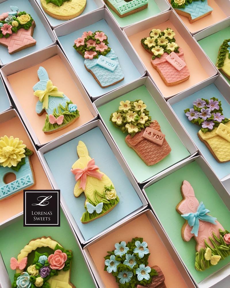 Lorena Rodriguez. Easter cookies . Spring cookies .