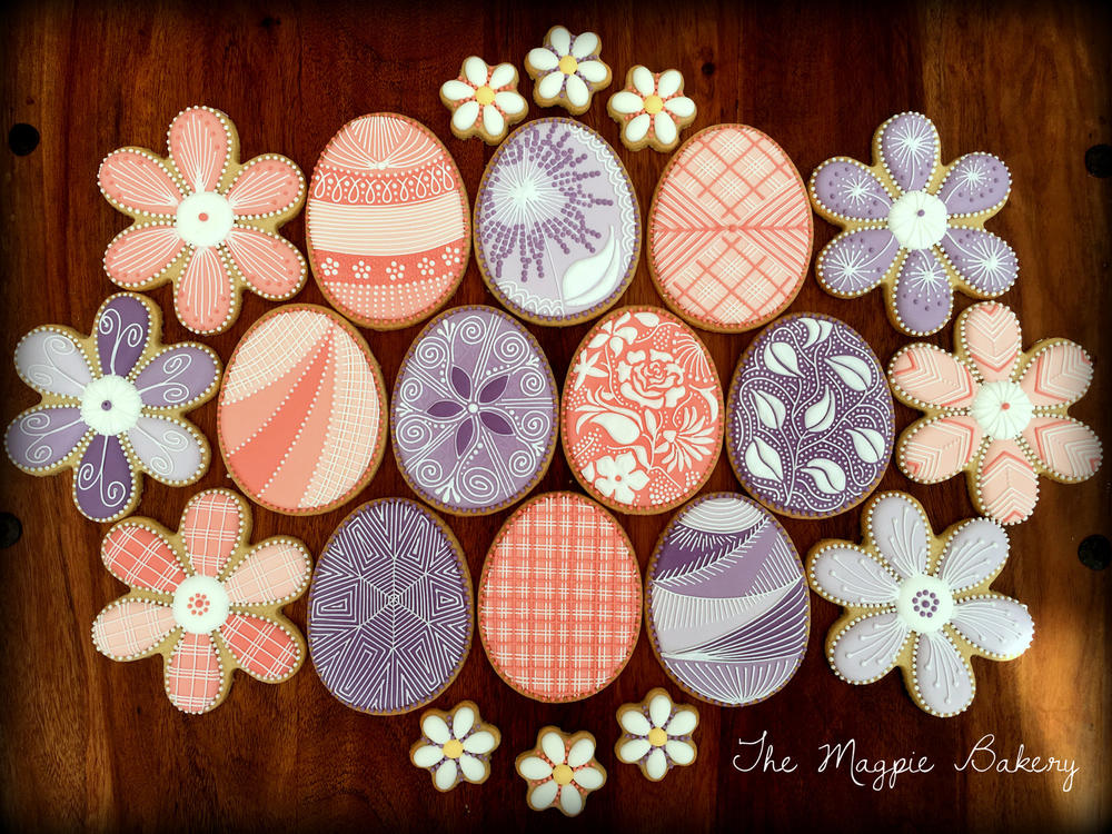 Easter Eggs & Flowers | The Magpie Bakery