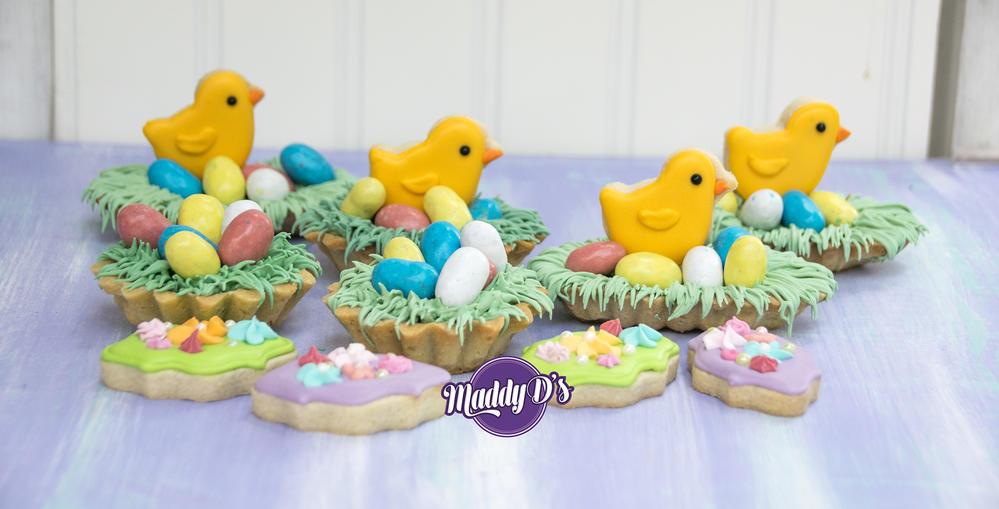 3-D Easter Chicks