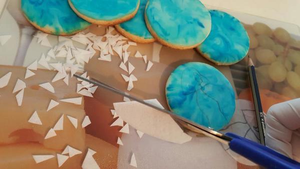 Dipped cookies!