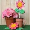 Pink Flower Pot Mug Cookie Lee Shepherd Gingerhaus