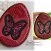 Butterfly Easter Egg Cookie with Isomalt Stained Glass Effect