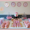 Hospital dessert table