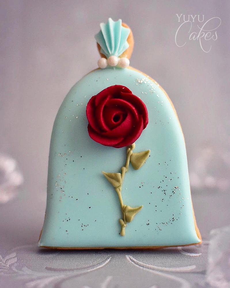 Enchanted Rose Cookie