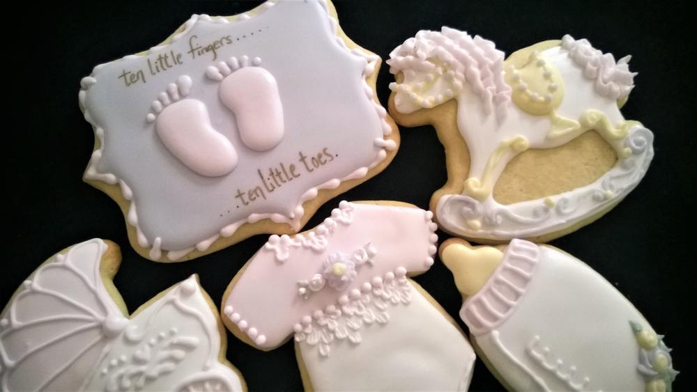 Baby Shower close up