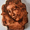 Head of a Woman (Da Vinci) by Ahimsa Custom Cakes