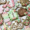 Vintage Paris Bridal Shower Cookies by The Cookie Confectionery