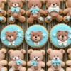 Little Bear Cookies Close-up