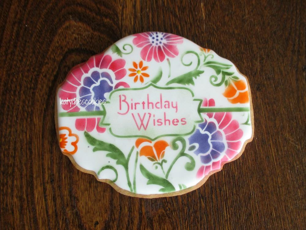 Birthday Wishes Prettier Plaque