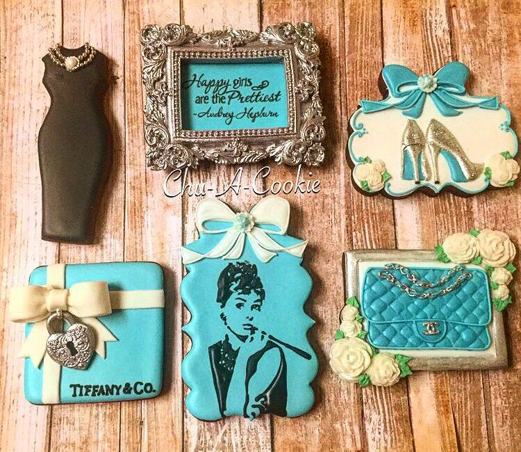 Tiffany-Themed Cookies