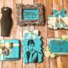 Tiffany-Themed Cookies