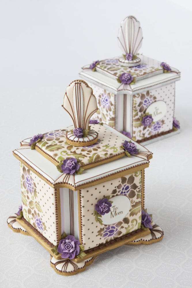 3-D Mother's Day Cookie Boxes