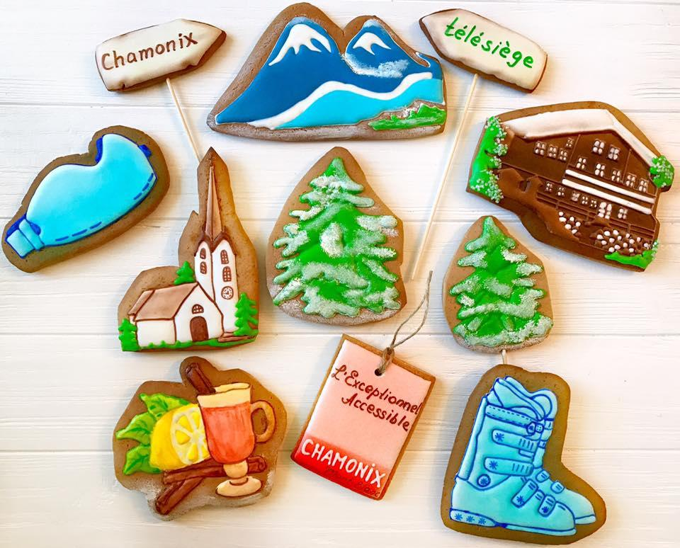 Cookies for a Ski Lover
