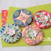 Japanese Kimono-Patterns with Wafer Paper