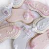 Sleep Mask Cookies for a Girl's Sleep-Over Party