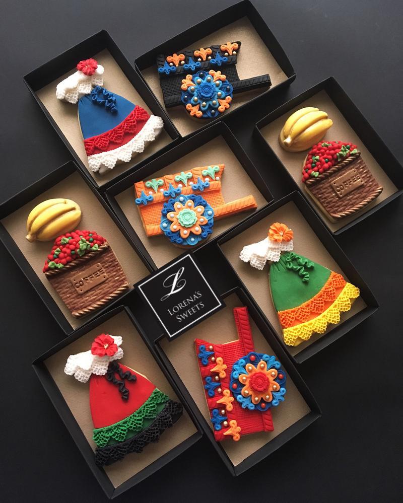 Lorena Rodriguez. Costa Rican cookies.