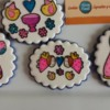 Stained Glass Cookies, Virgencita Plis