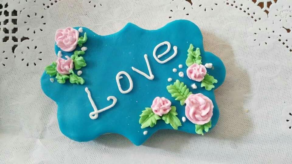 Amor entre, flores
