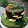 Sleepy Dragon Cake - The Woodsy Wife Bakery