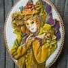 Venetian Masquerade on Gingerbread