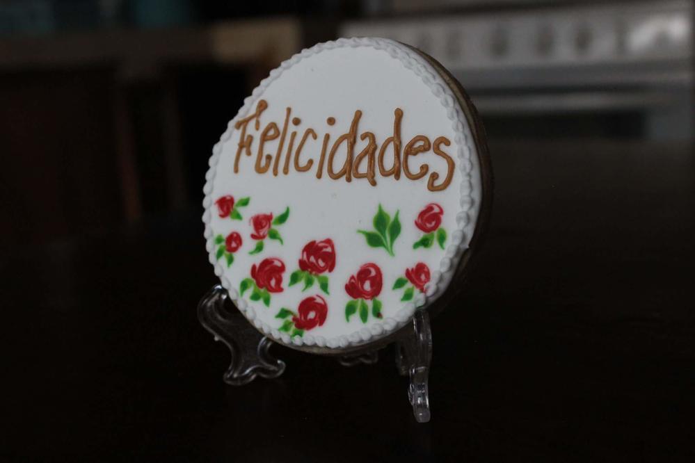 Felicidades con Rosas