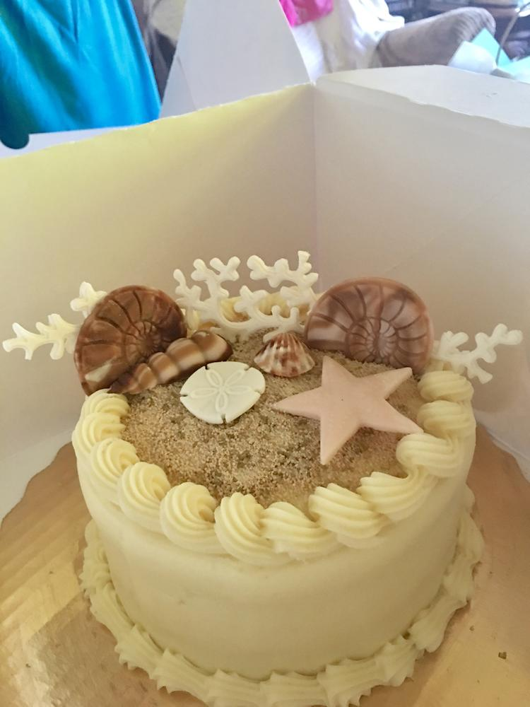 Ocean View Mini Cake