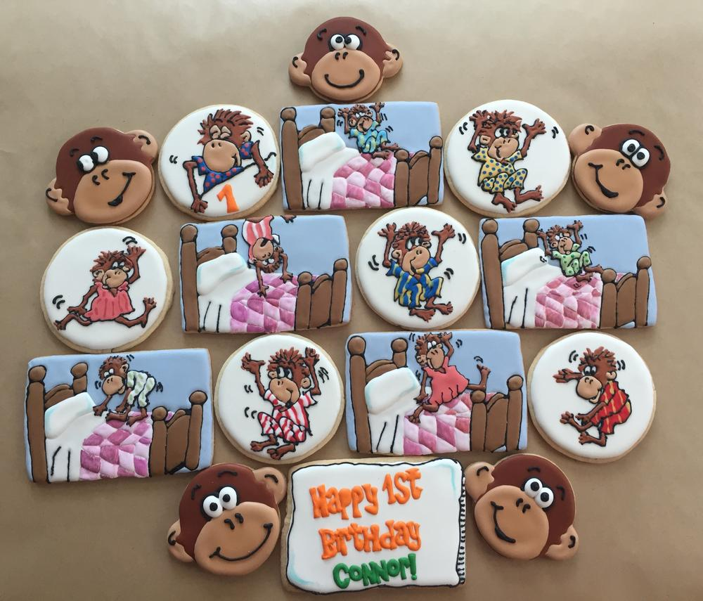 Super Five Little Monkeys Judy Hannon Dark Side Cookies Cookie Funny Birthday Cards Online Inifofree Goldxyz