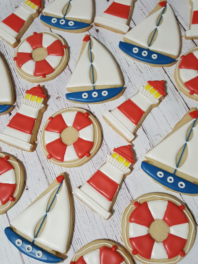 Port Town Nautical Set by Sweethart Baking Experiment