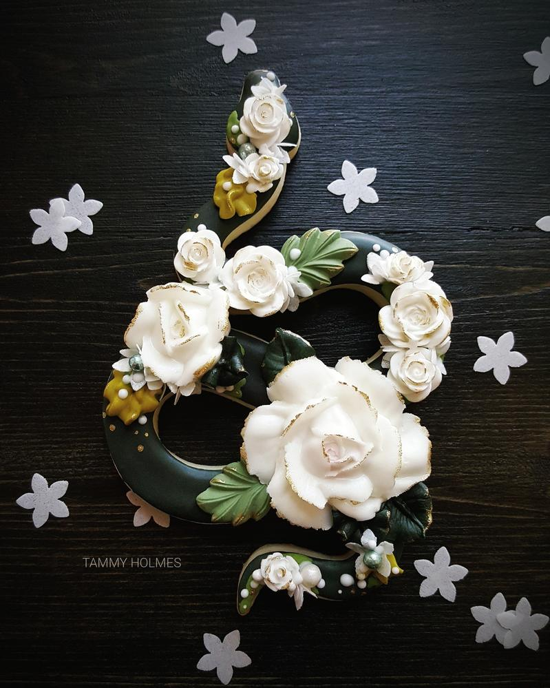 Floral Snake • Tammy Holmes