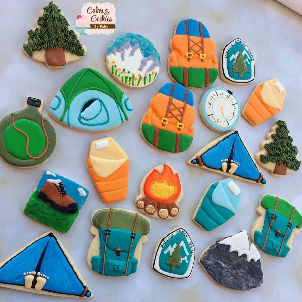 Hiking cookies