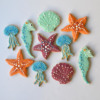 Sea creature cookies