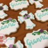 Baptism Cookies for Gianna