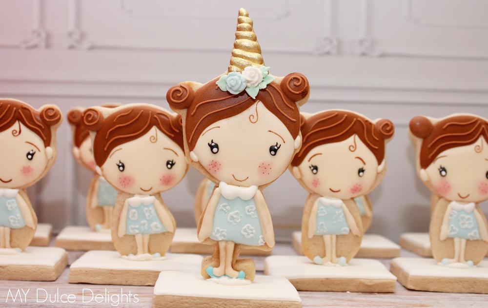3-D Doll Cookies