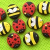 Little bees & ladybugs