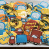 Car 2nd Birthday Platter